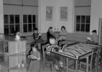 1943 Reading Corner Third Grade Classroom