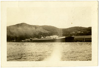 Steamers S.S. North King and S.S. Katherin at Squaw Harbor, Alaska