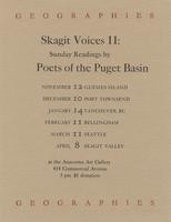 Skagit Voices II: Sunday Readings by Poets of the Puget Basin