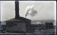 Fog signal in operation at Cape Flattery Lighthouse on Tatoosh Island