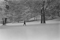 1969 Student in Snow