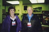 2007 Reunion--Ruth (Reardon) Vaughan and Donald Reardon in Special Collections