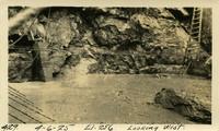 Lower Baker River dam construction 1925-04-06 El.256 Looking West - Box drain
