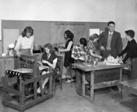 1946 Sixth Grade Industrial Arts Activities