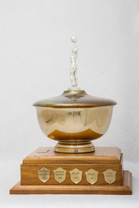 Basketball (Women's) Trophy: Thunderette Invitational Tournament, Lower Mainland Amatuer Basketball Association (right side), 1960/1979