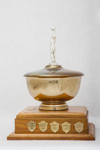 Basketball (Women's) Trophy: Thunderette Invitational Tournament, Lower Mainland Amatuer Basketball Association (right side), 1960/1979