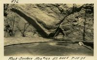 Lower Baker River dam construction 1925-07-15 Rock Surface #162 El.3055