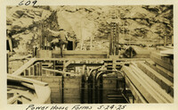 Lower Baker River dam construction 1925-05-24 Power House Forms