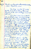 AS Board Minutes - 1925 March