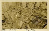 Lower Baker River dam construction 1925-04-01 Run #60 - Curvature