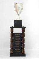 General Trophy: G. Robert Ross Memorial, WWU Athlete of the Year award (left rear side), 1986/2013