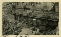 Lower Baker River dam construction 1925-02-26