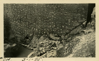 Lower Baker River dam construction 1925-03-01 Pitted concrete