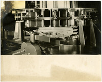 Close-up of machinery of unidentified use