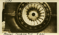 Lower Baker River dam construction 1925-09-04 Runner Turbine #1N