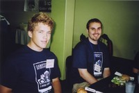 2007 Reunion--Todd Belmondo (right) and Gavin