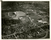 Aerial view of Civic Field in Bellingham