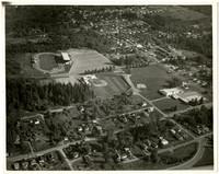 Aerial view of Civic Field in Bellingham