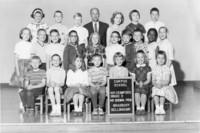 1963 Third Grade Class with Clark Brown