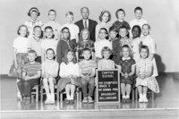 1963 Third Grade Class with Clark Brown