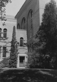 1956 Library: East Side Door