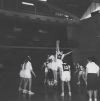 Basketball Game at Tipoff