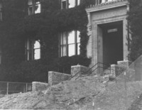 1987 Old Main: Staircase Repair