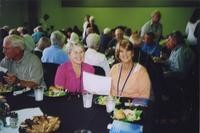 2007 Reunion (Saturday) Denny Lewis and Judy (Hall) Lewis with Jane (Ambrose) Kelly