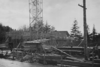 1949 Auditorium-Music Building: Construction