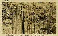 Lower Baker River dam construction 1925-06-13 E. Side Power House