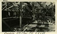 Lower Baker River dam construction 1925-06-26 Conduits 3rd Floor P.H.