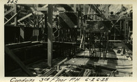 Lower Baker River dam construction 1925-06-26 Conduits 3rd Floor P.H.