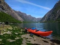 Fjordkajakk - Hardangerfjord, Norway