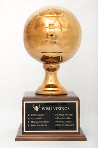 Volleyball (Women's) Trophy: NCAA Division 2 Nationals, 2nd (side 1), 2007