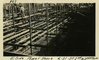 Lower Baker River dam construction 1925-06-21 E. Side Power House 2nd & 3rd Floors