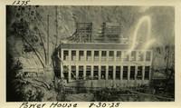 Lower Baker River dam construction 1925-08-30 Power House