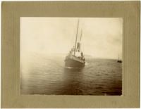 Steam tugboat