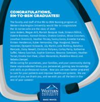 Degree Programs - BSN print ad