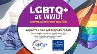 LGBTQ+ Western Fall 21 Event digital ad
