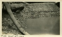 Lower Baker River dam construction 1924-09-06 Drain pipe?