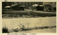 Lower Baker River dam construction 1925-07-03 Operator's Cottages