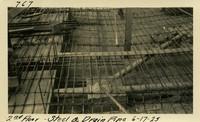 Lower Baker River dam construction 1925-06-17 2nd Floor Steel & Drain Pipe