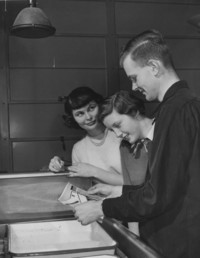 1950 Darkroom