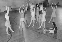 1942 Dance Class