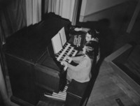 1952 Auditorium-Music Building: Organ Playing