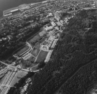 1973 Aerial View: South Campus