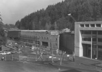 1987  Ross Engineering Technology Building: Construction