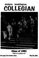 Western Washington Collegian - 1961 May 26