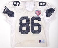 Football Jersey: Jersey #86, Chris Nicholl, 1993/1996