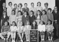 1966 Fifth Grade Class with Milton Towne
